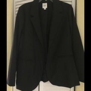 NWT Gap Blazer Jacket new never worn Black size 14